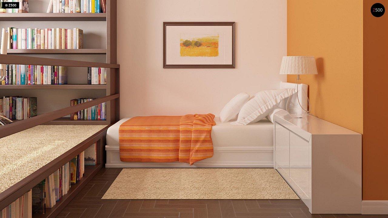 Современный добротный особняк в стиле хай-тек. - фото 10