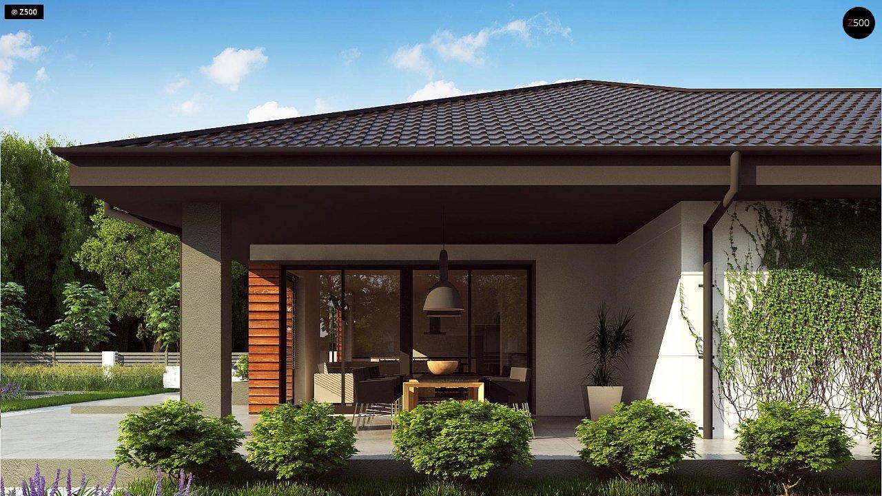 Проект комфортного и функционального одноэтажного дома. - фото 4