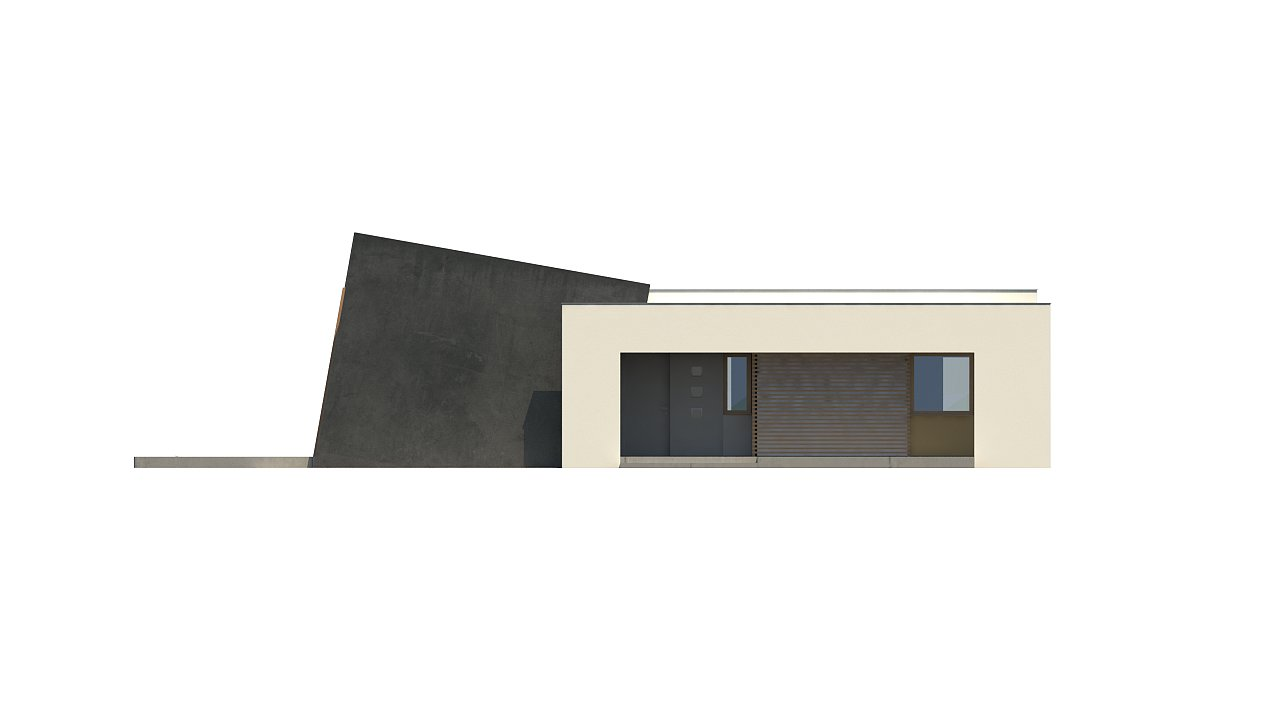 Одноэтажный дом исключительного современного дизайна. 27