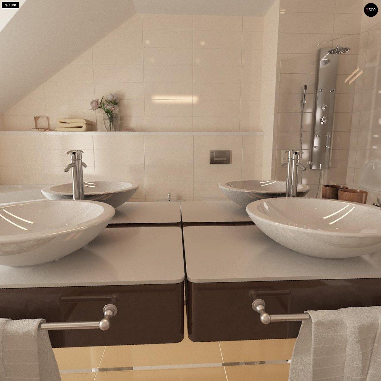 Проект стильного, функционального и недорогого двухсемейного дома. 20