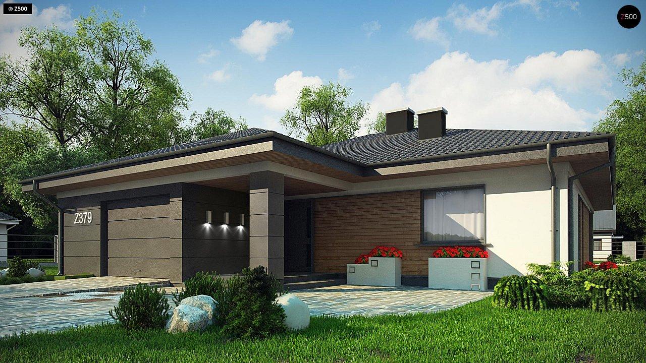 Проект стильного одноэтажного дома с функциональной планировкой - фото 3