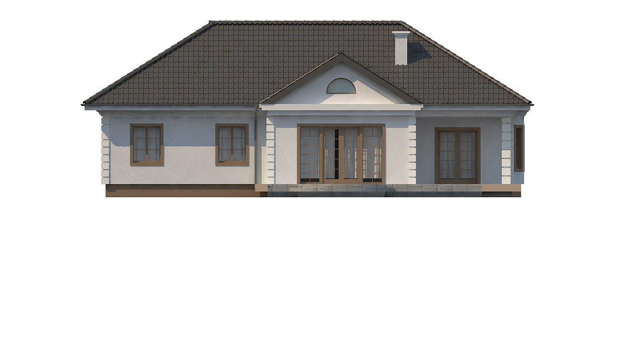 Зеркальный вариант увеличенного дома Z2 - фото 14