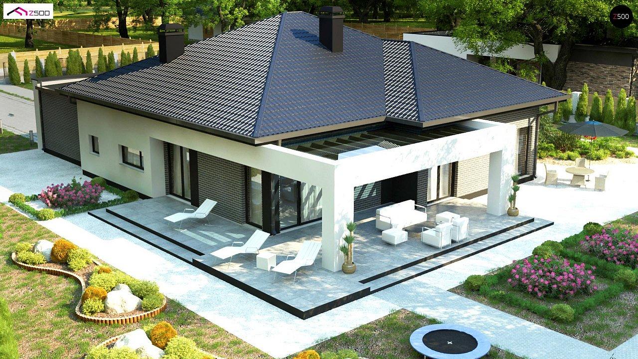 Одноэтажный дом с четырьмя спальнями и гаражом на два автомобиля - фото 6