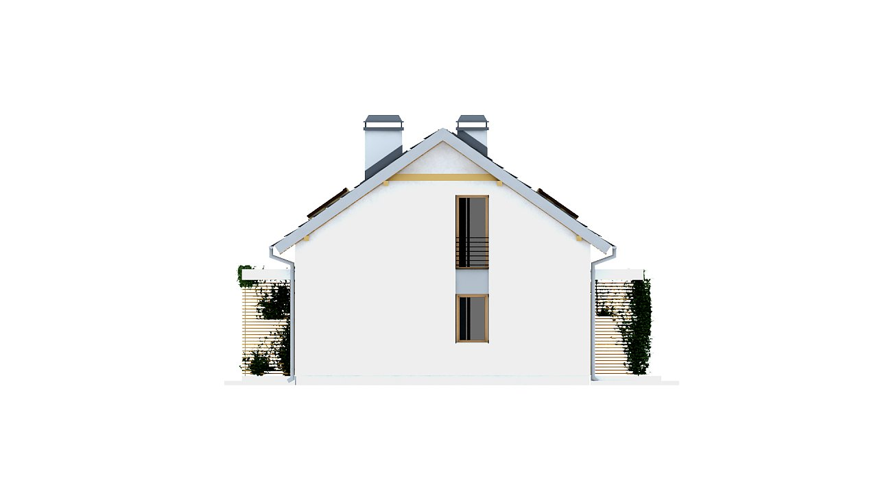 Функциональный удобный двухквартирный дом с отдельными входами в каждую из них. 5