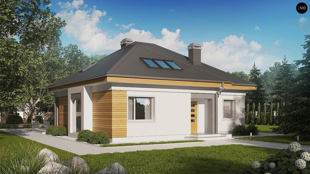 Удобный функциональный дом с двумя дополнительными комнатами на первом этаже. - фото 1