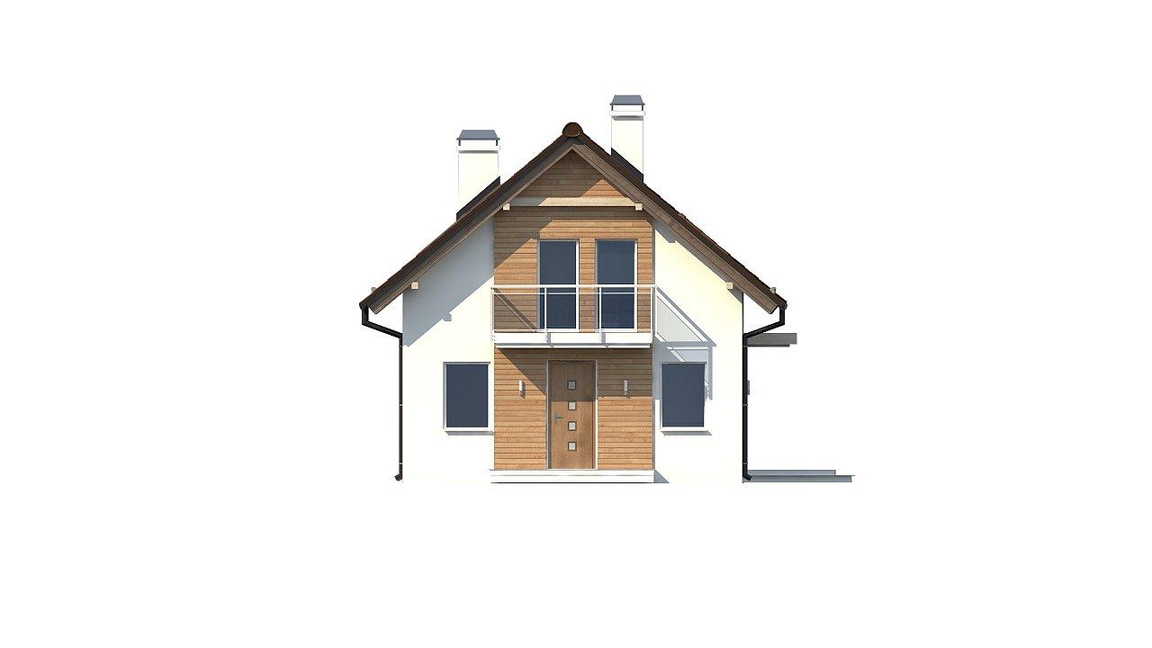 Компактный, аккуратный и стильный дом с двумя спальнями. - фото 15