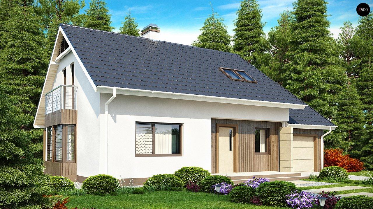 Выгодный в строительстве и эксплуатации дом с дополнительной спальней на первом этаже. - фото 2