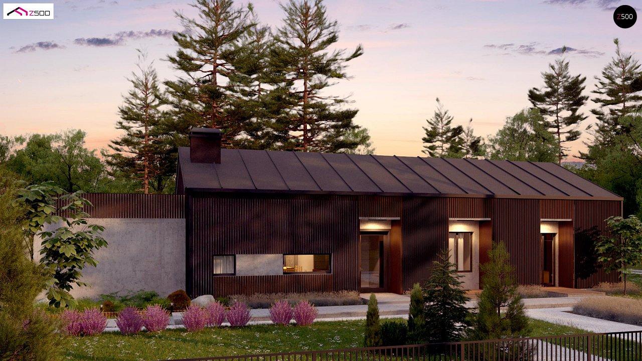 Дом в необычном современном стиле для большой семьи - фото 5