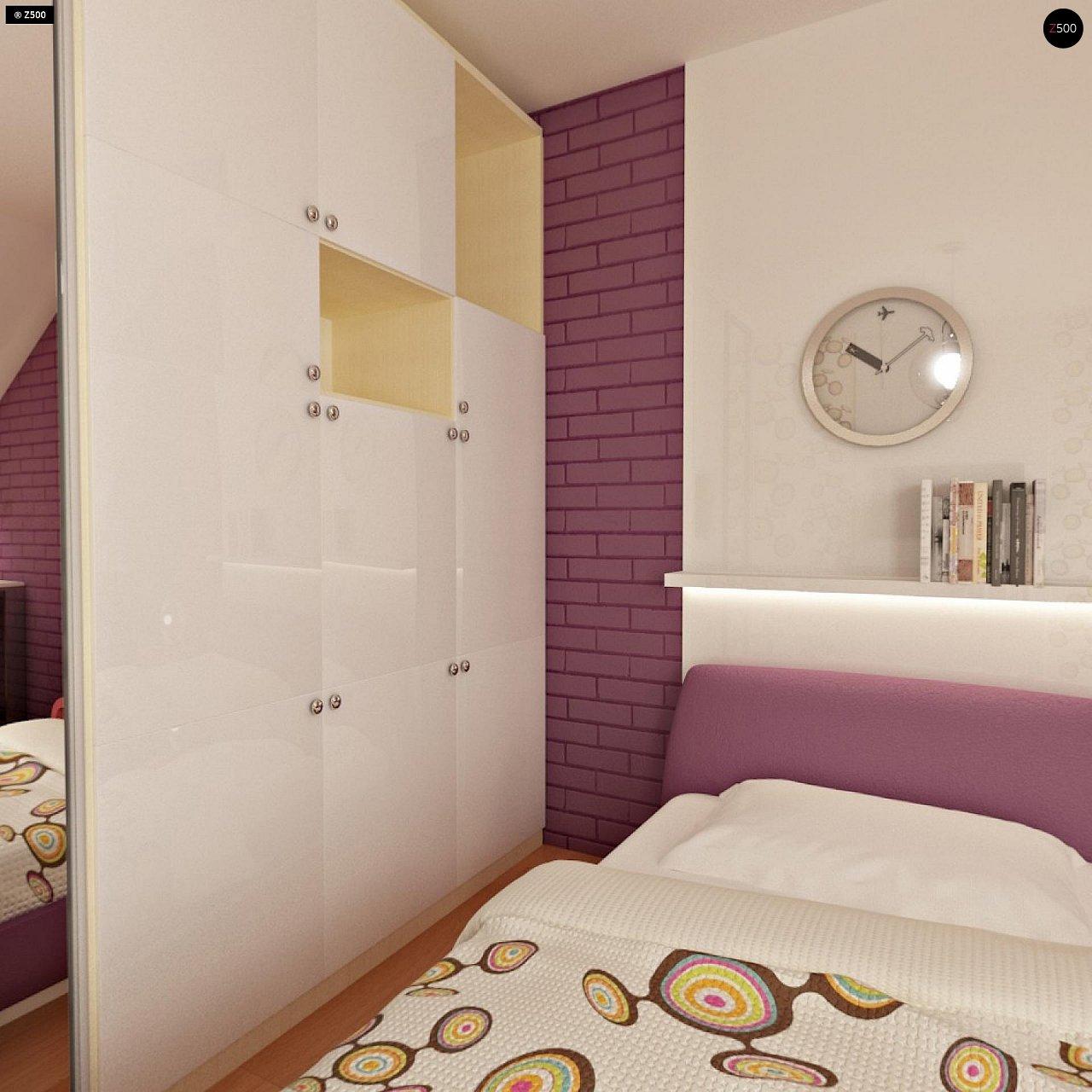 Проект стильного, функционального и недорогого двухсемейного дома. 11