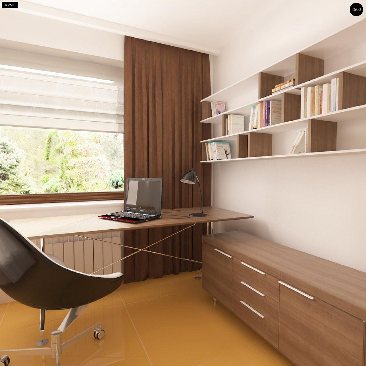 Одноэтажный дом традиционного характера с тремя удобными спальнями и встроенным гаражом. - фото 12