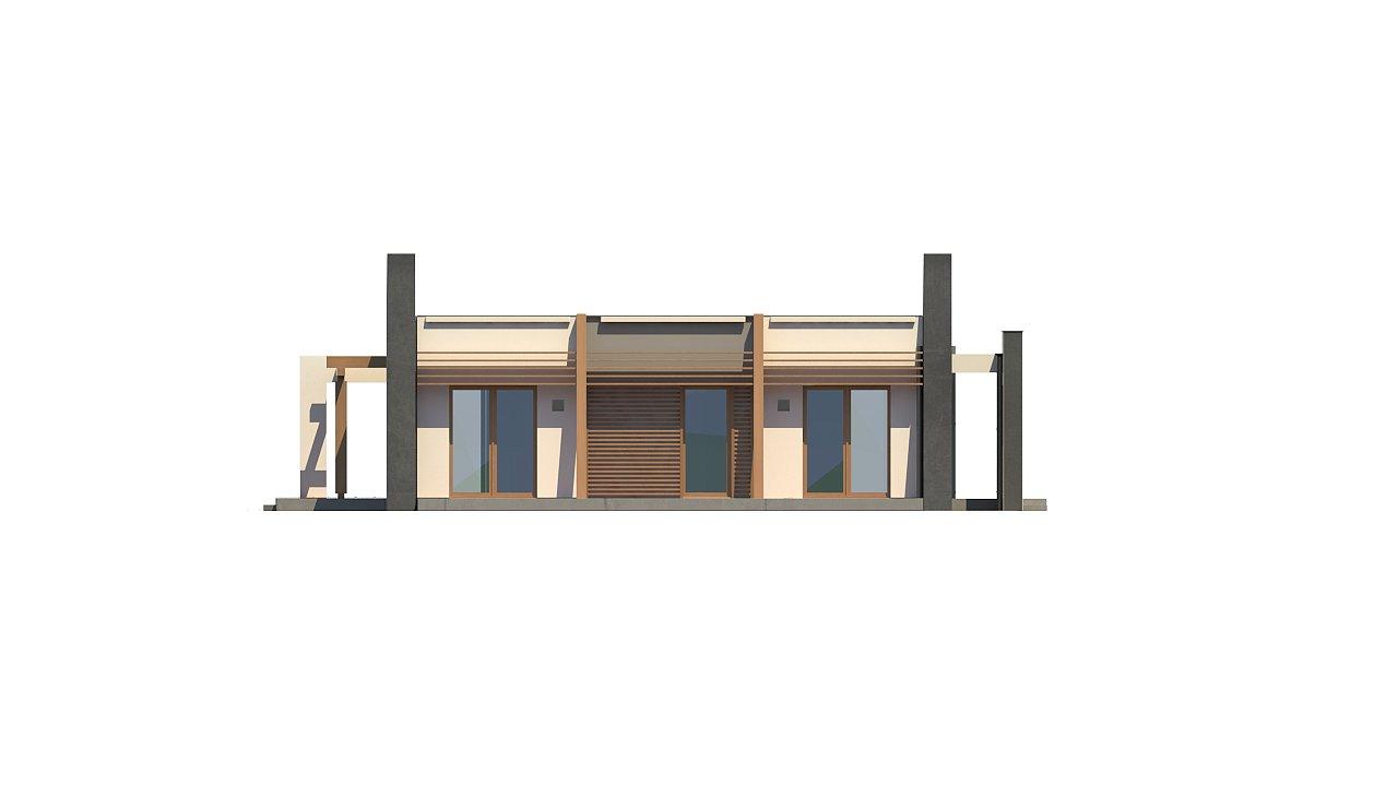 Одноэтажный дом исключительного современного дизайна. - фото 28