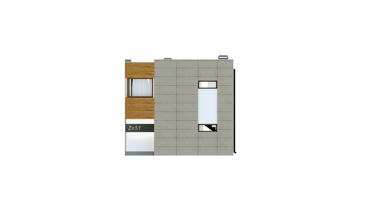 Компактный дом в стиле современного кубизма с тремя спальнями. - фото 4