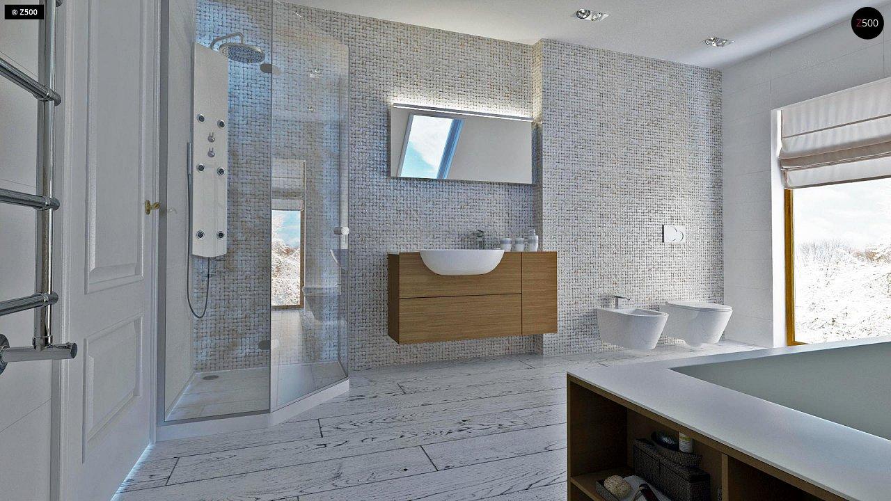 Практичный и уютный дом, идеально подходящий для вытянутого участка. 10