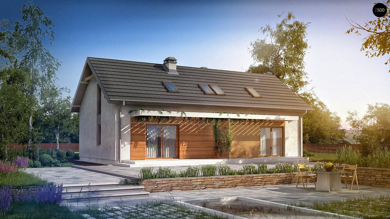 Функциональный удобный двухквартирный дом с отдельными входами в каждую из них. 2