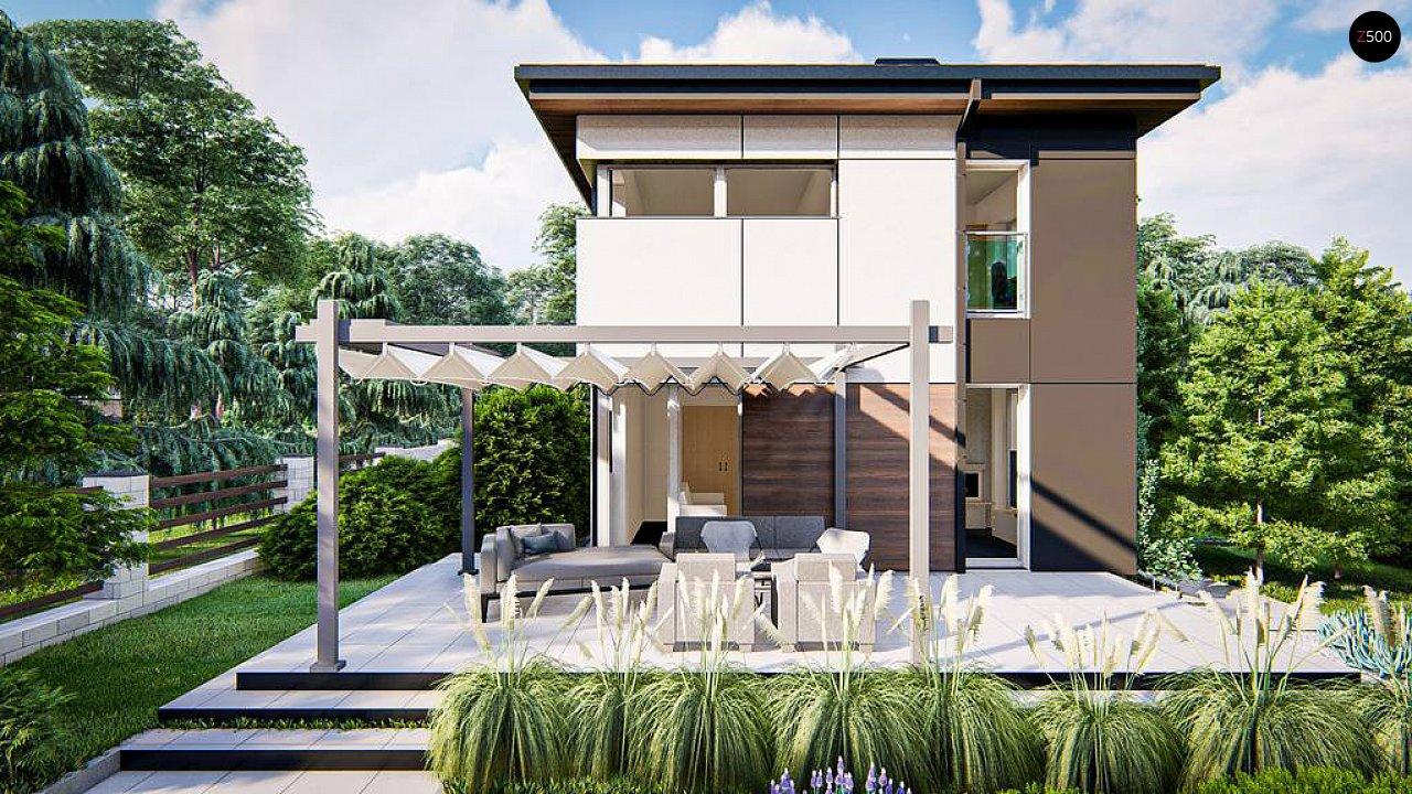 Современный проект дома с 3 спальнями 6
