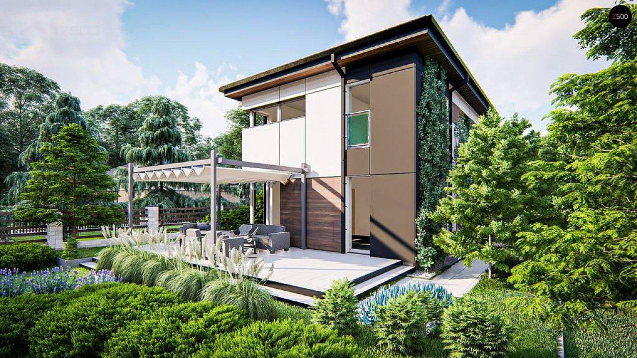 Современный проект дома с 3 спальнями 4