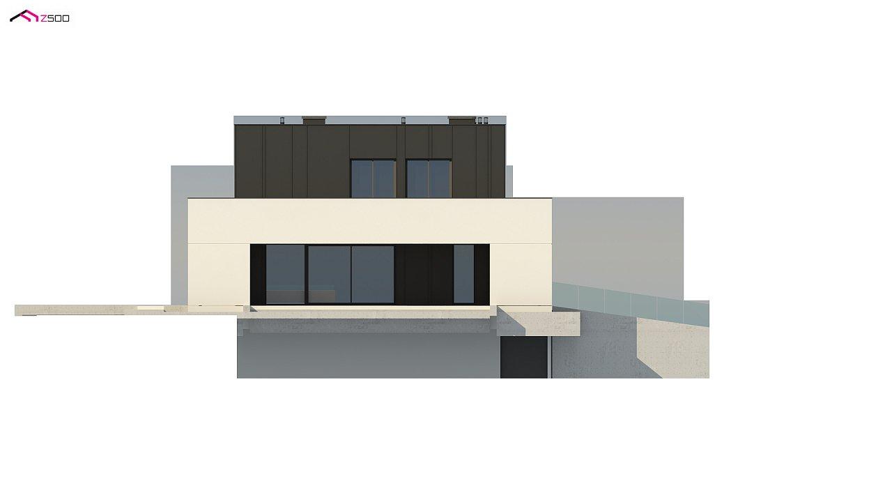 Дом в современном стиле с подвалом 8