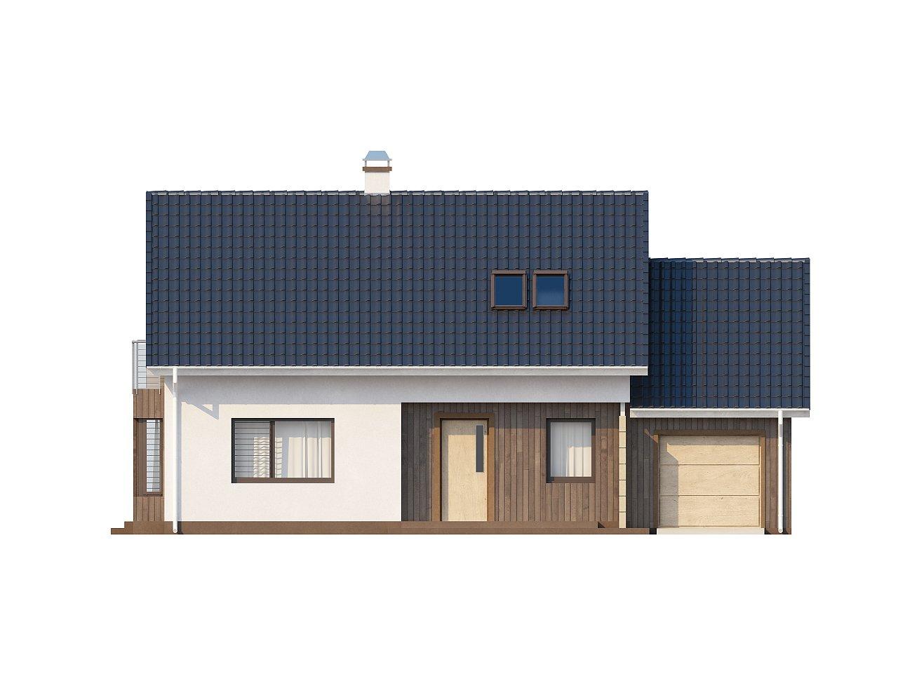 Выгодный в строительстве и эксплуатации дом с дополнительной спальней на первом этаже. - фото 3