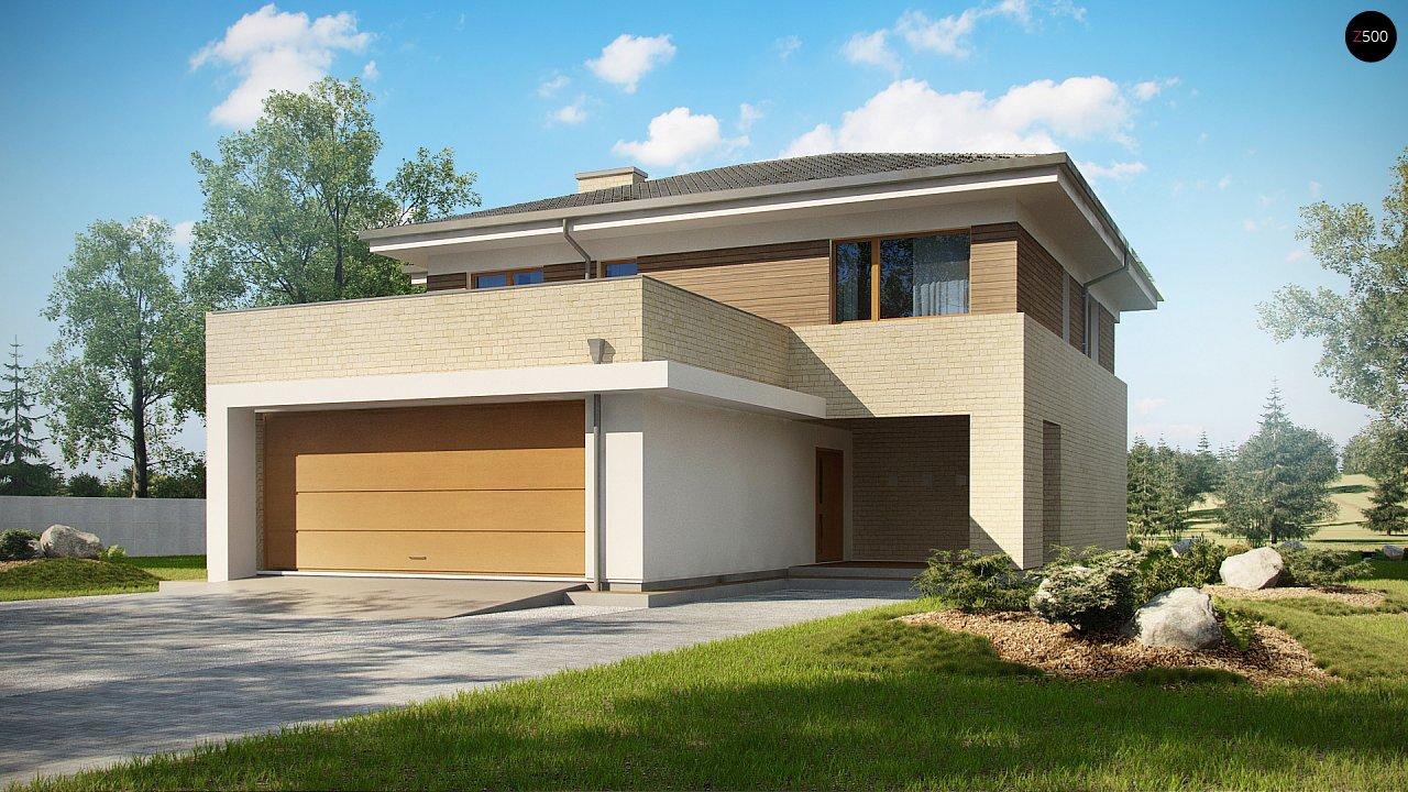 Современный комфортный двухэтажный дом с баней - фото 1