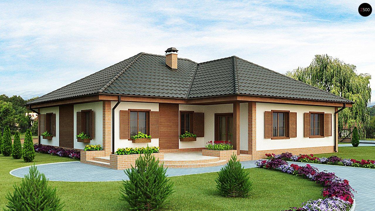 Просторный комфортный одноэтажный дом с гаражом для двух машин. - фото 2