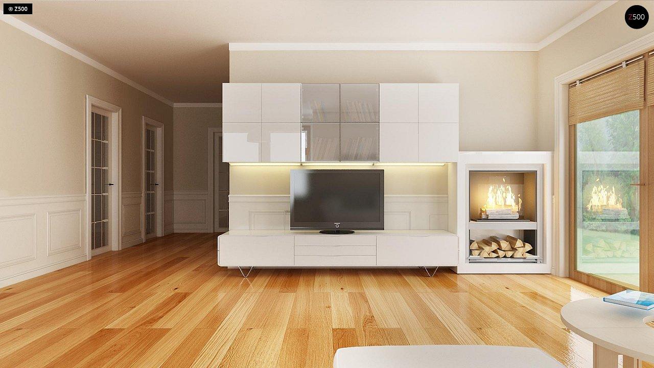 Проект традиционного дома с возможностью адаптации чердачного помещения. 5