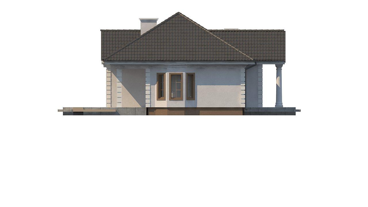 Зеркальный вариант увеличенного дома Z2 - фото 13