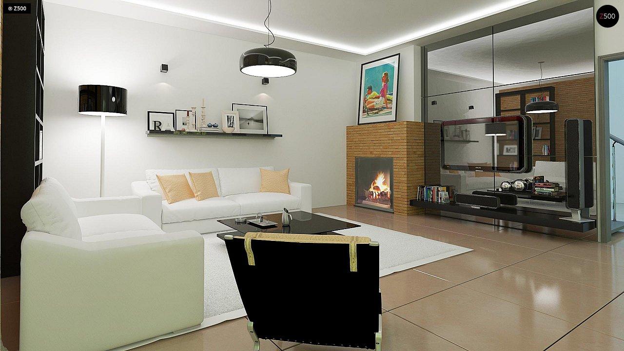 Комфортный дом привлекательного дизайна с дополнительной комнатой над гаражом. 7