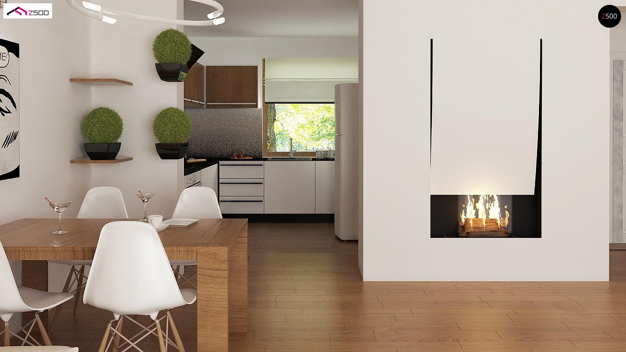 Выгодный и простой в строительстве дом полезной площадью 100 м2. 6
