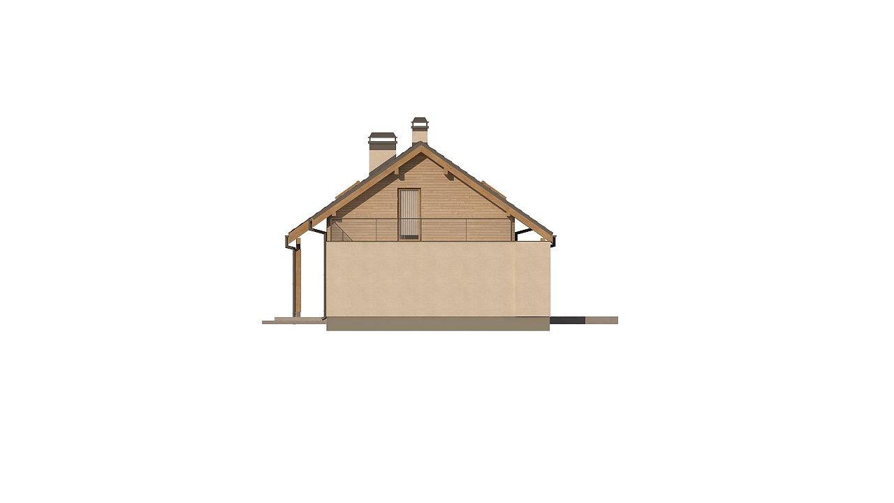 Версия проекта Z210 c гаражом, с альтернативной планировкой. - фото 21