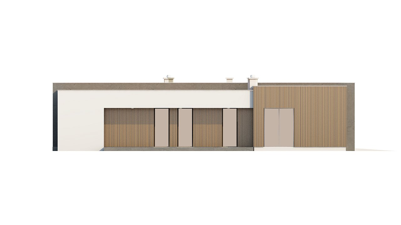 Прекрасное сочетание строгих минималистичных форм и уютного практичного интерьера. 26