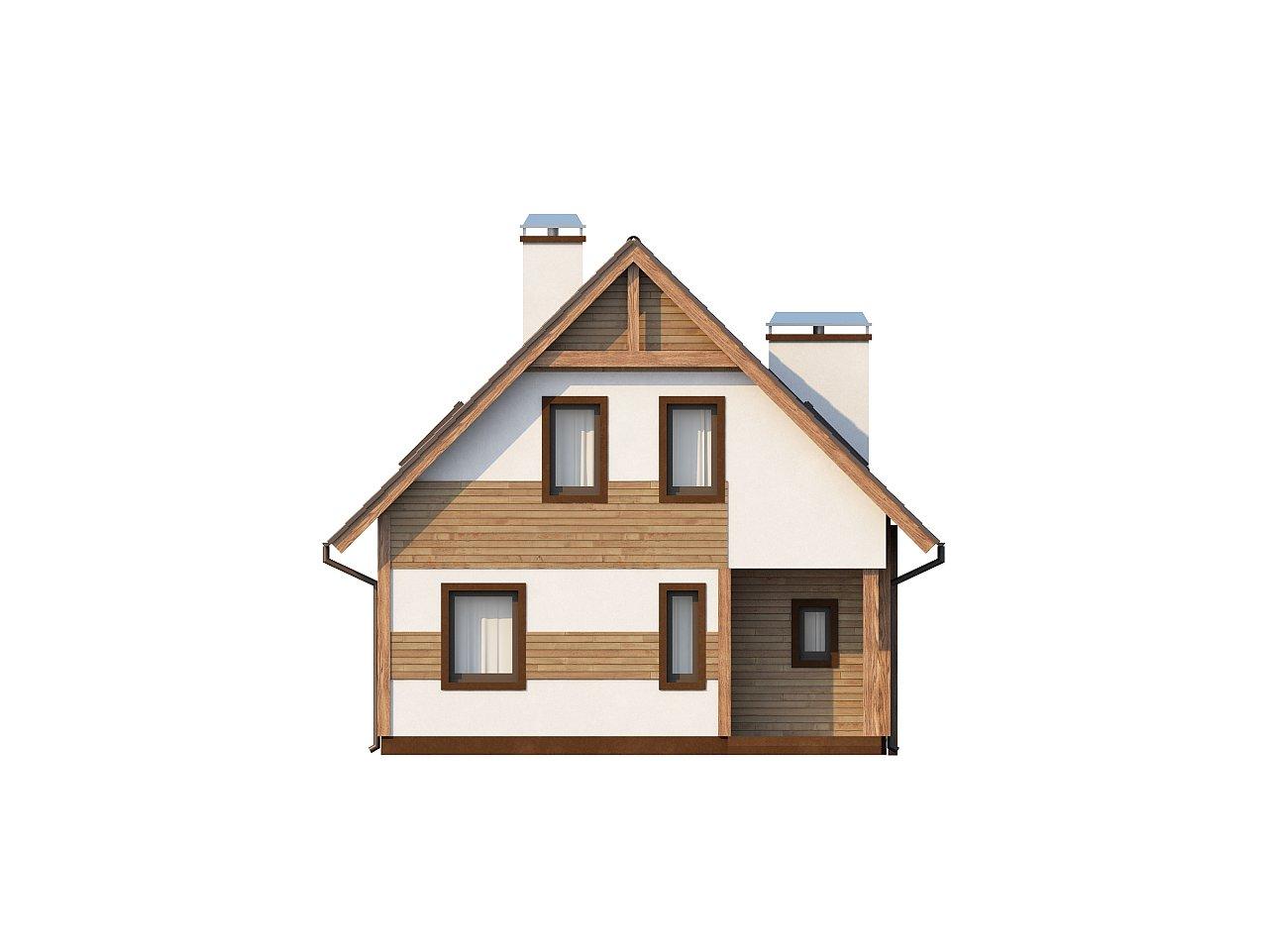 Предложение выгодного и практичного дома, подходящего для удлиненного или, наоборот, неглубокого участка. 3