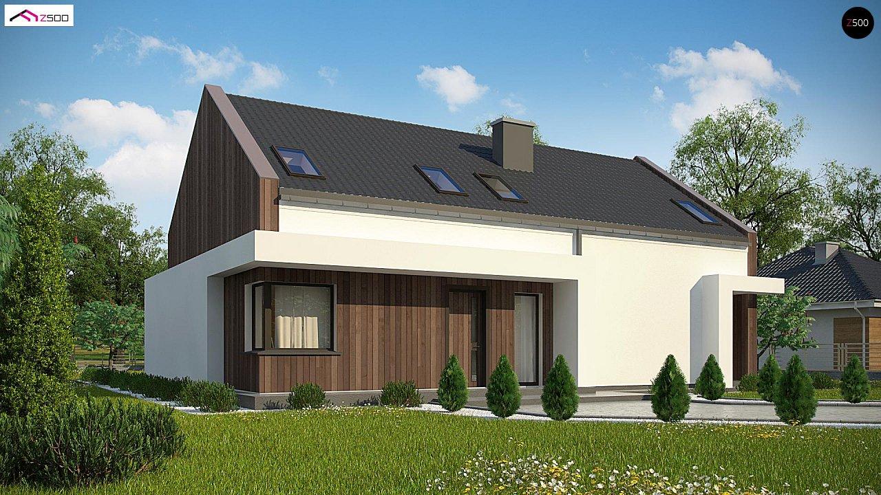 Комфортный мансардный дом для двух семей. - фото 1
