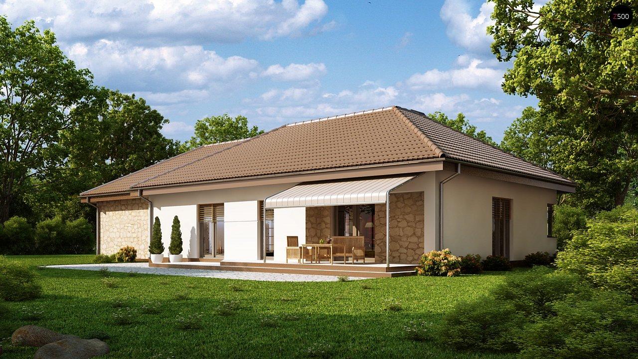 Функциональный удобный дом с гаражом на два автомобиля и большим хозяйственным помещением. - фото 2