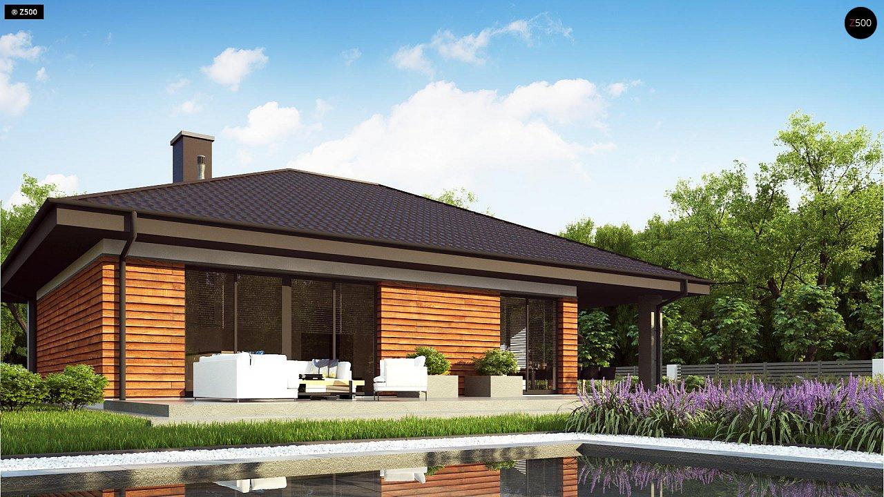 Проект комфортного и функционального одноэтажного дома. - фото 3