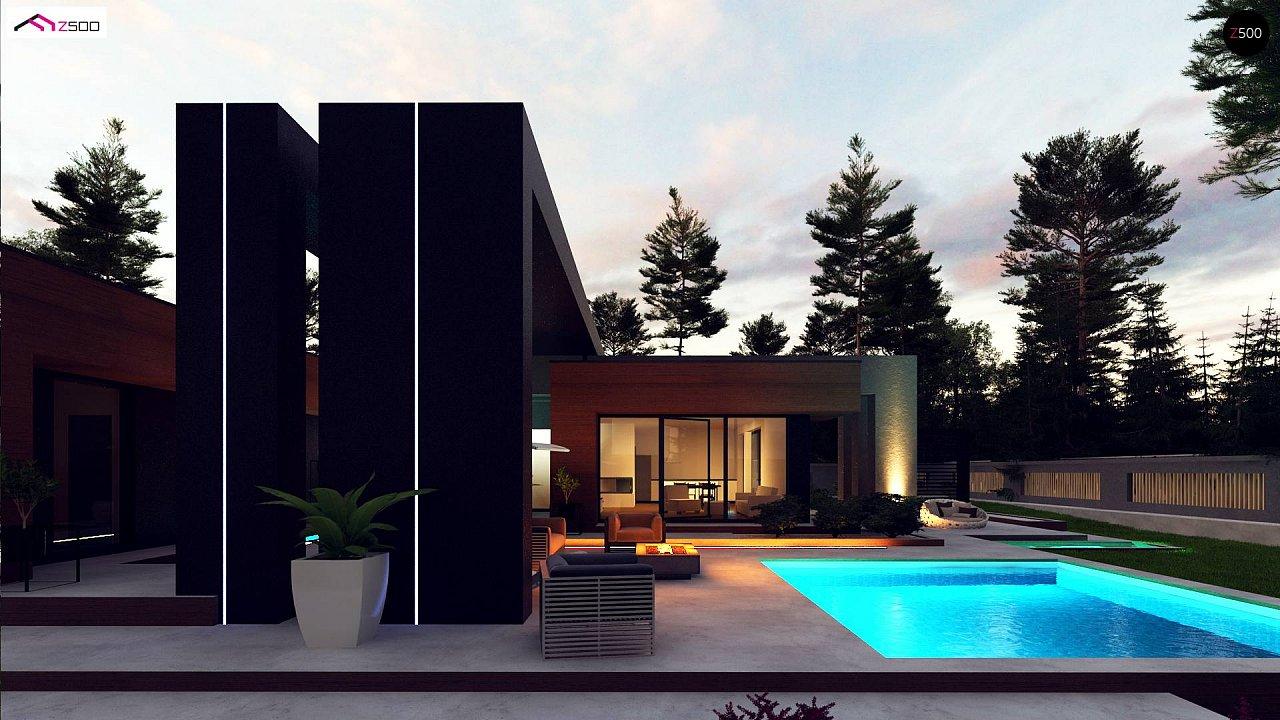 Современный дом с одноуровневой планировкой для большой семьи. - фото 6