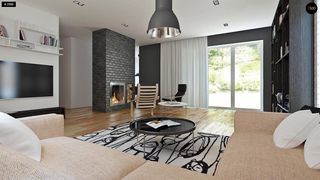 Традиционный дом с современными элементами архитектуры. - фото 3