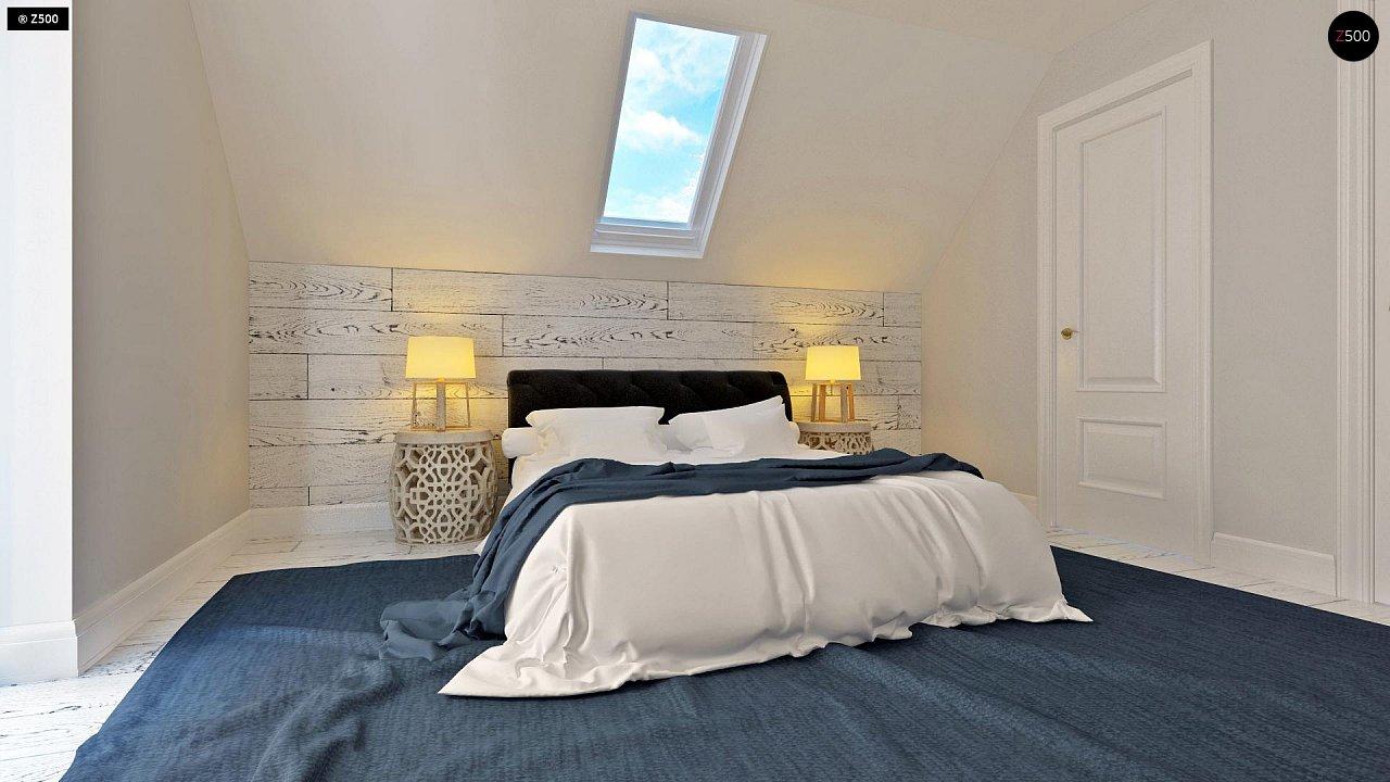 Практичный и уютный дом, идеально подходящий для вытянутого участка. 9