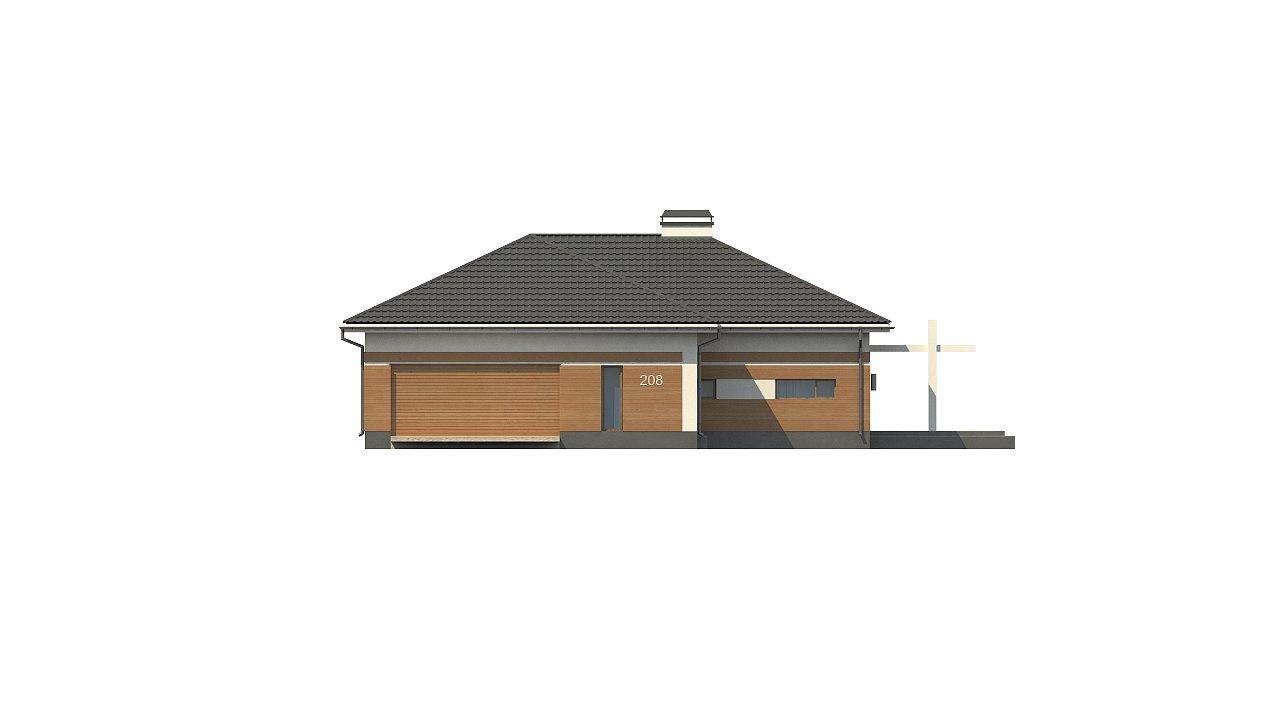 Классический вариант реализации фасадов на основе проекта Z208. - фото 8
