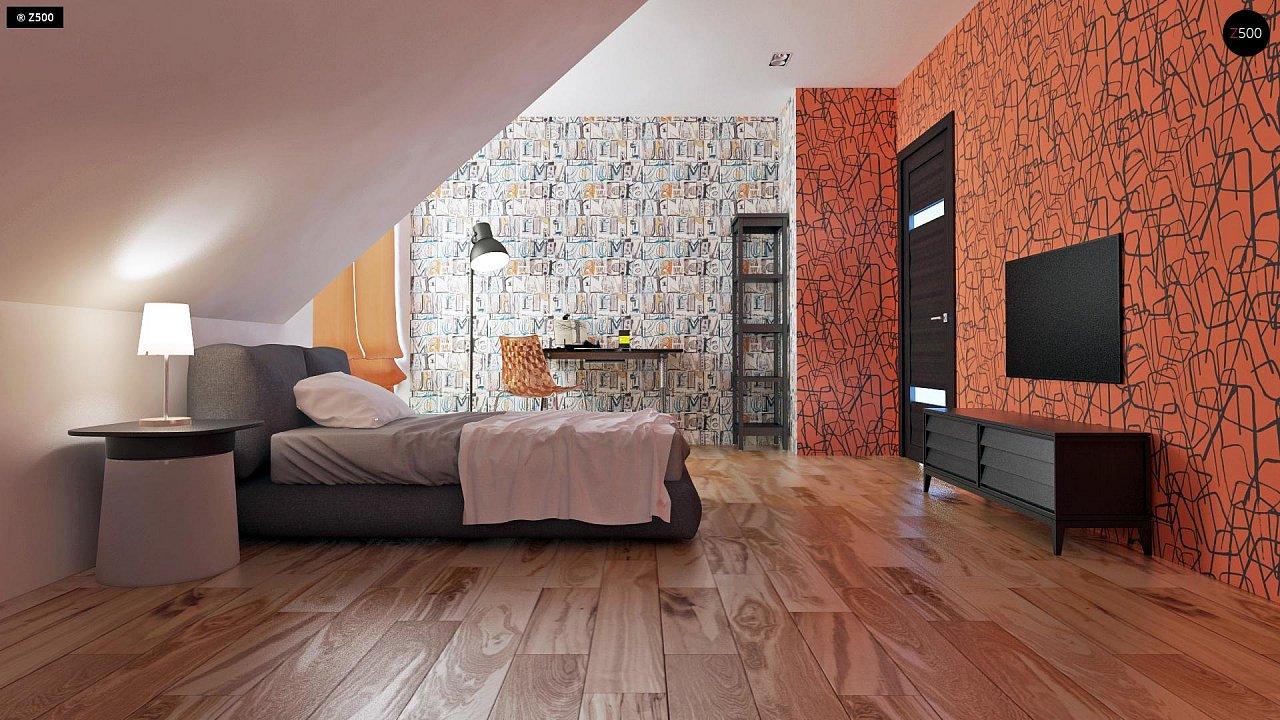Традиционный дом с современными элементами архитектуры. - фото 17