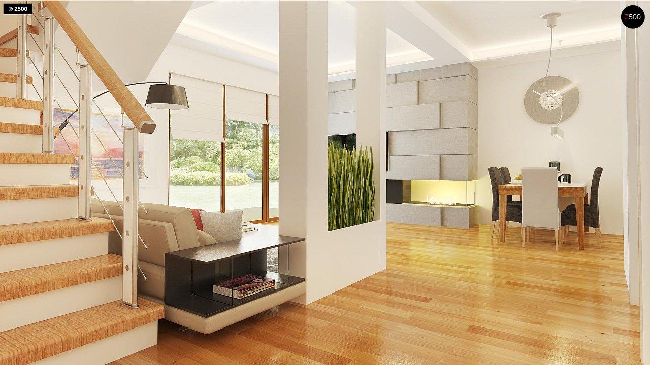 Компактный односемейный дом с дополнительной спальней на первом этаже. 5