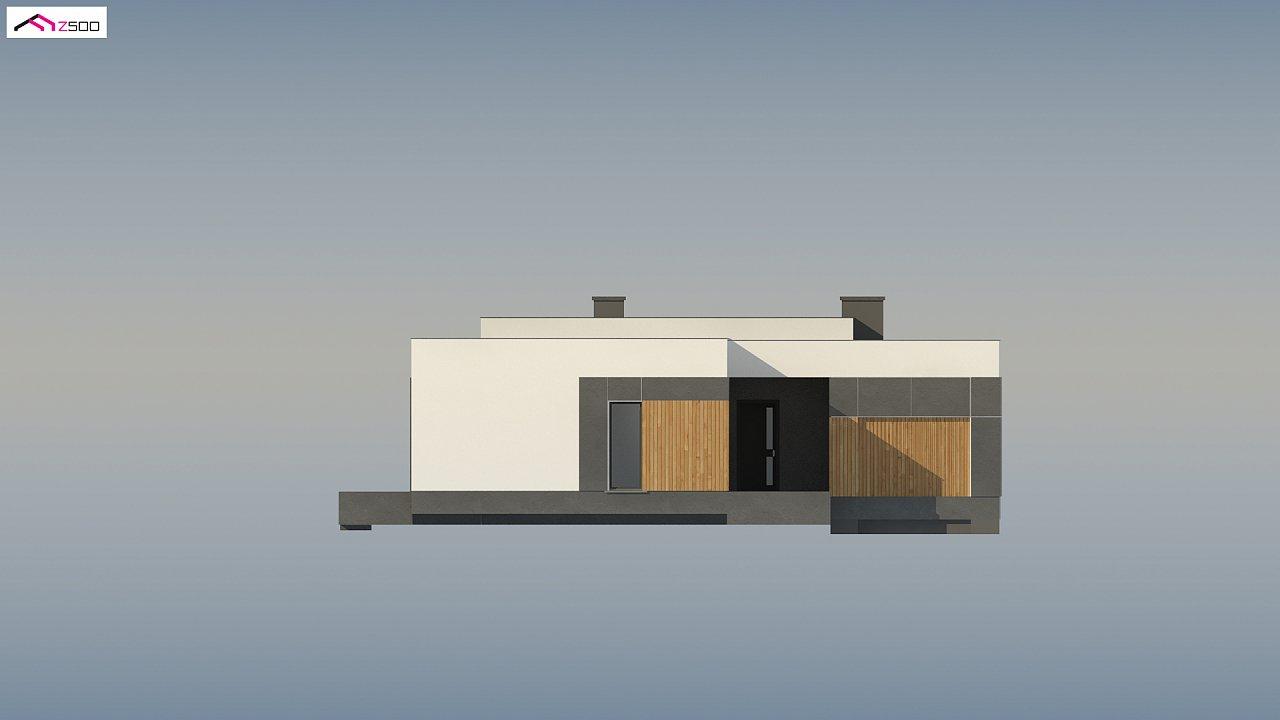 Проект стильного одноэтажного дома в современном стиле 10
