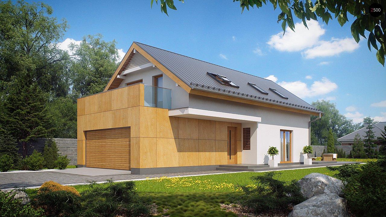 Практичный и уютный дом, идеально подходящий для вытянутого участка. 1