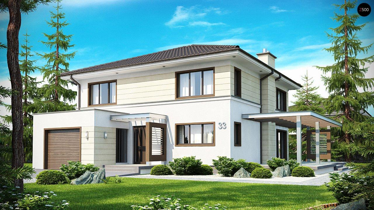Комфортный двухэтажный дом со вторым светом над гостиной. - фото 1