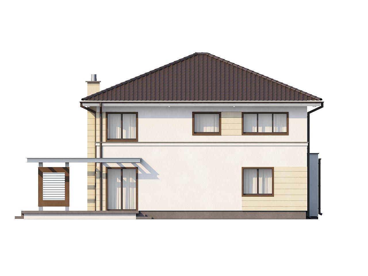 Комфортный двухэтажный дом со вторым светом над гостиной. - фото 5