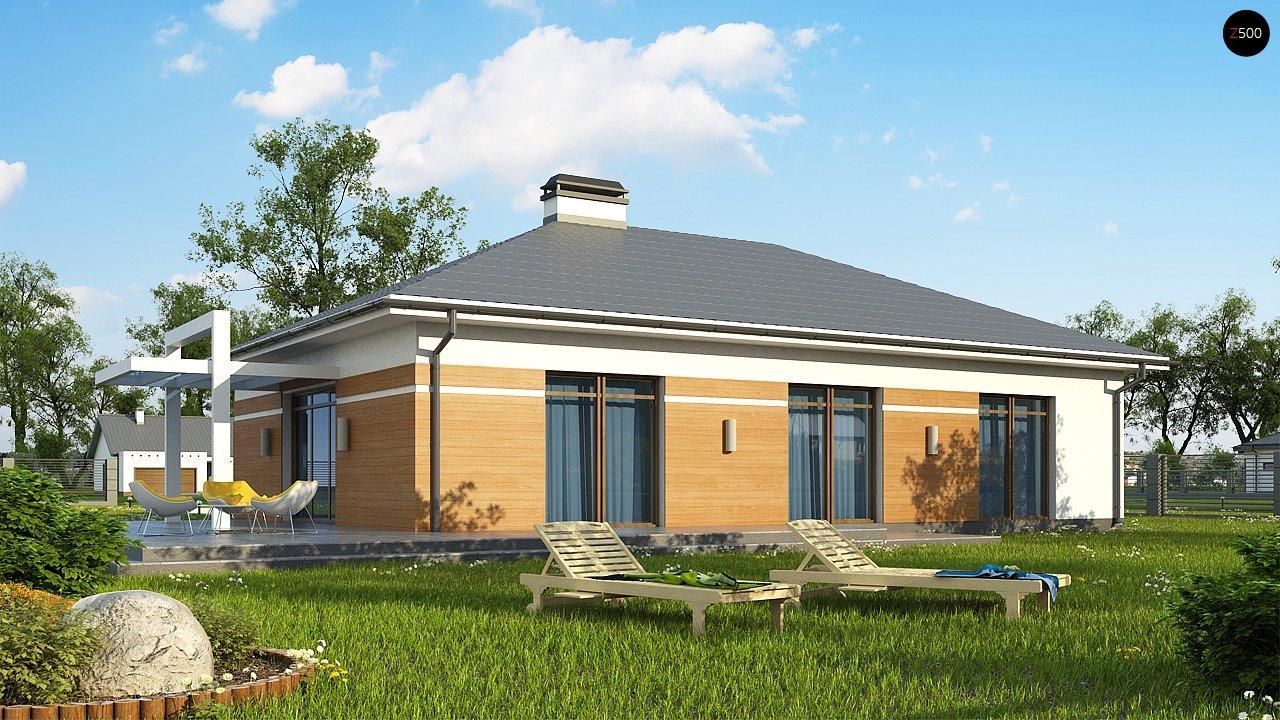 Классический вариант реализации фасадов на основе проекта Z208. - фото 2