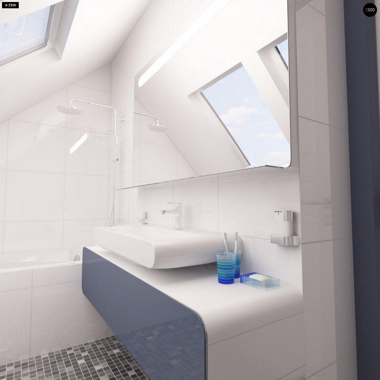 Дом с мансардным этажом, адаптированный для сейсмоопасных регионов. 20
