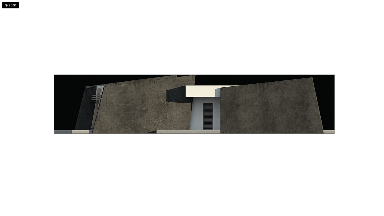 Современный одноэтажный дом в стиле минимализм 6