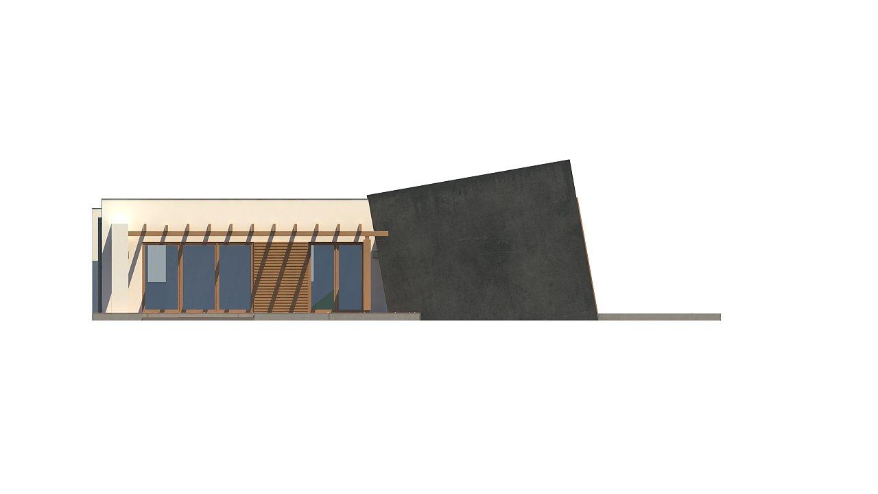 Одноэтажный дом исключительного современного дизайна. - фото 29
