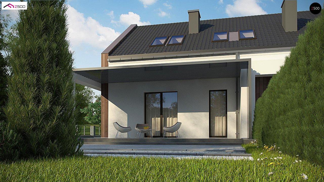 Комфортный мансардный дом для двух семей. - фото 8