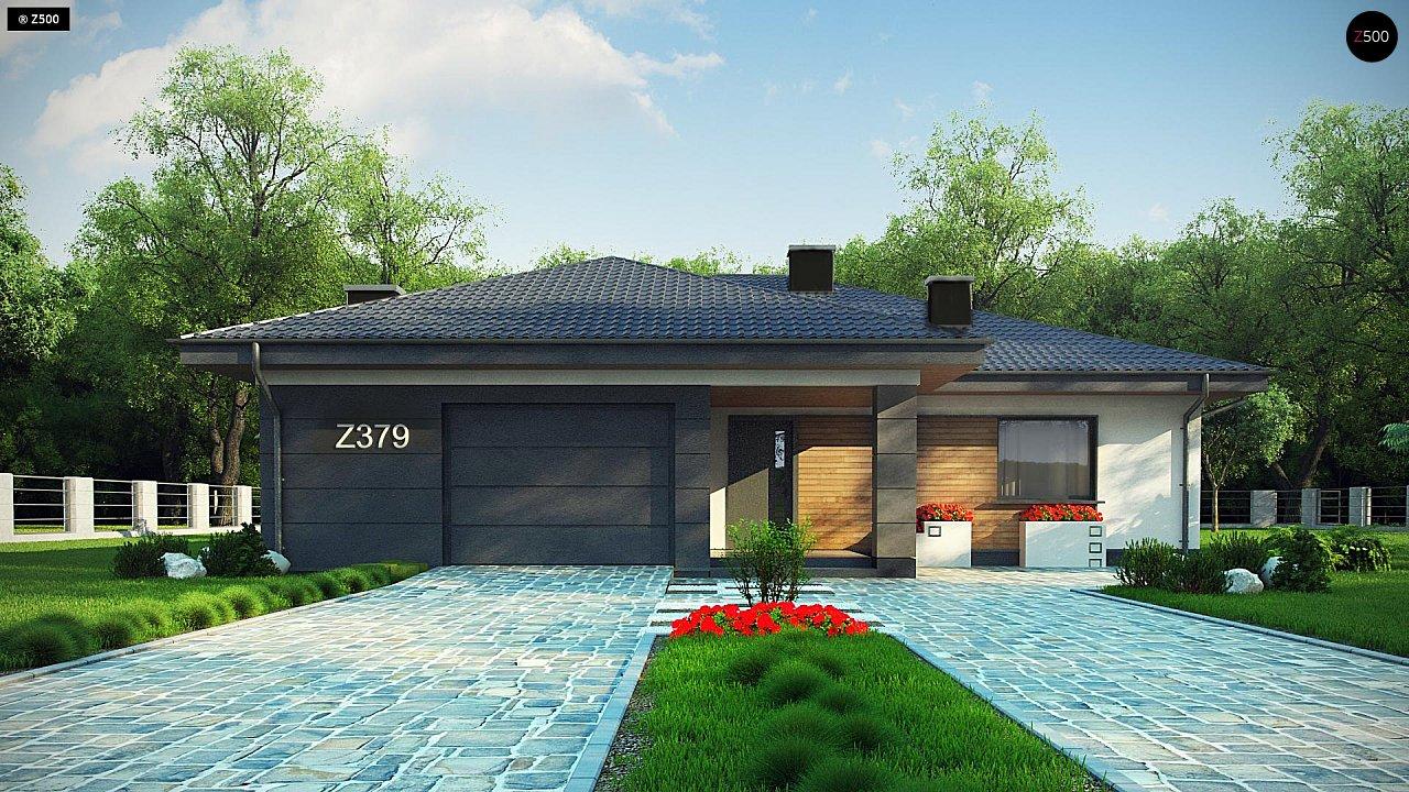 Проект стильного одноэтажного дома с функциональной планировкой - фото 6